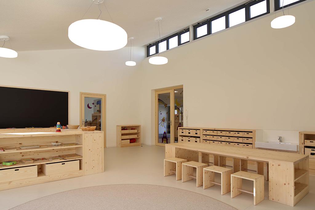 Kindergarten Pollenfeld - Schreinerei Eichstätt